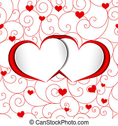 St Valentine Heart Shape Background - St Valentine Heart...