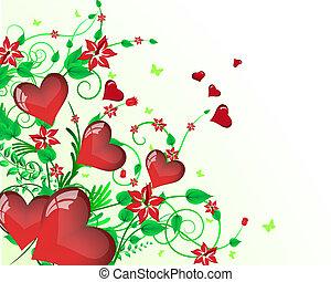 St. Valentine's day card