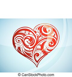 St. Valentine`s Day heart shape
