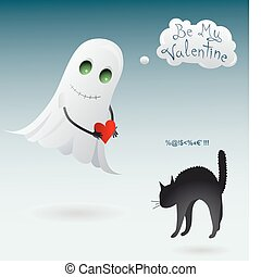 St. Valentine`s Day illustration - St. Valentine`s Day...