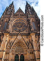 St. Vita`s Cathedral in Prague, Czech Republic