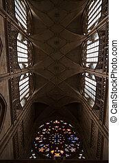 St Vitus Cathedral in Prague.