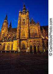 St Vitus Cathedral, Prague, Czech Republic