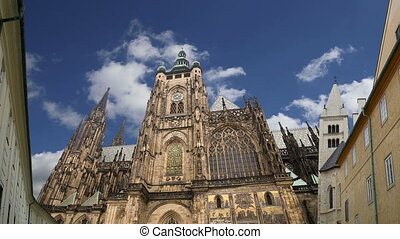St. Vitus Cathedral .Prague - St. Vitus Cathedral (Roman...
