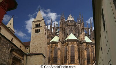 St. Vitus Cathedral .Prague - St. Vitus Cathedral (Roman...