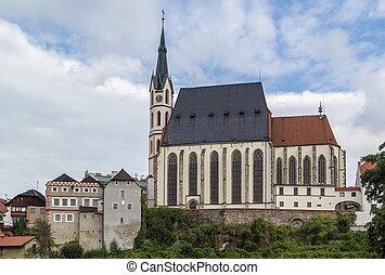 St. Vitus Church, Cesky Krumlov, Czech republic