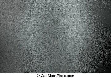 staal, abstract, metaal, zwarte achtergrond, geborstelde, textuur