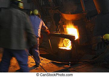 staal, industrie, ijzer