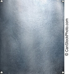 staal, schaaltje, res, metaal, textuur, achtergrond., hoi