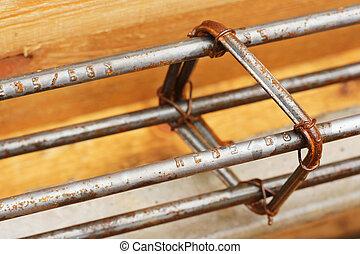 staal, staaf, bouwsector, materialen