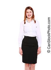 staand, businesswoman