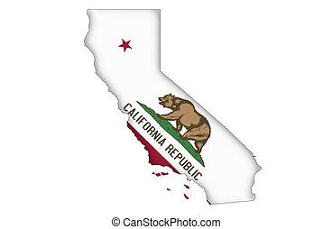 staat, kalifornien
