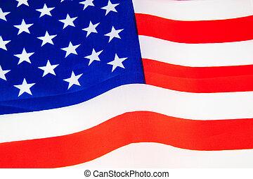 Staaten, Fahne, vereint, Amerika