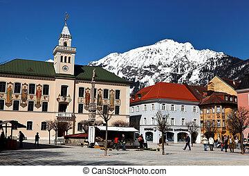 Staatsbad Bas Reichenhall in Bavaria - Bavarian state spa of...