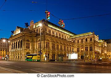 Viennas grand Opera House