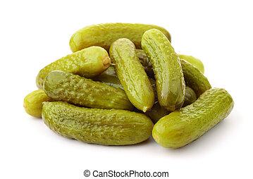 stabel, pickled, agurker