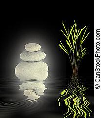 stabilität, zen