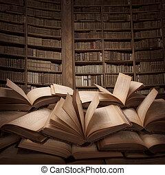 stabl af bøger