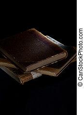 stabled, böcker, gammal
