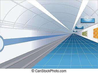 stacja, metro