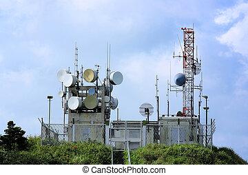 stacja, transmitowanie