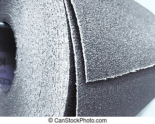 Stack of abrasive tools on polishing sheet