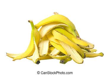 Stack of Banana skin