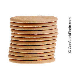 Stack of bisquits