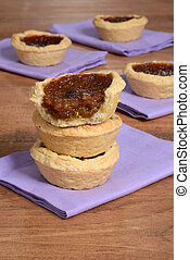 stack of butter tarts