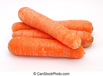 Stack of carrots