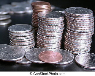 Stack of Change