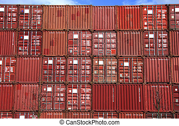 stack of container - stack of conntainer - all company...