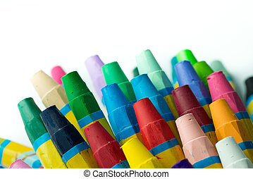 Stack of crayon