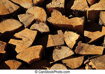 Stack of firewood