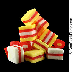 Stack Of Fruit Candies