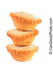 Stack of mince pies