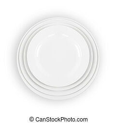 stack of plate