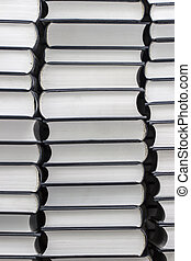 Stack of similar books
