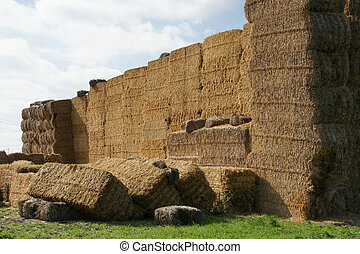 stack of straw- 2