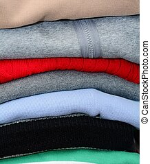 Stack of the clothes