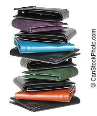 Stack of Wallets