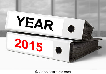 white office binders year 2015