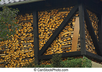 stack of wood 21