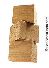 Stack of Wooden Blocks
