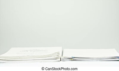 Stack old overload paperwork report