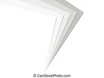 Stack Paper Greyscale Background