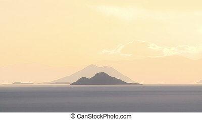 Stacked Andean Ranges, Uyuni Salt Flats, Bolivia