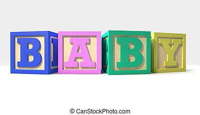baby blocks illustrations and stock art 6 064 baby blocks rh canstockphoto com baby block letters clipart baby building blocks clipart