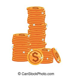 stacked coins icon