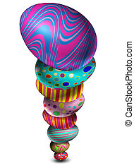 Stacked Easter Egg